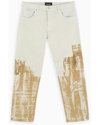 A_COLD_WALL* * White/bronze Regular Pants - Multicolor