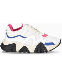 Versace Sneaker Squalo bianca e fucsia - Bianco