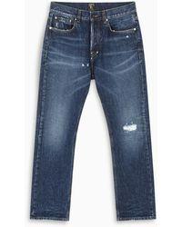 PRPS Dark Blue Esprit Crop Jeans