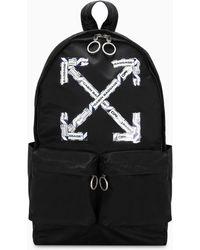 Off-White c/o Virgil Abloh Black Airport Tape Backpack