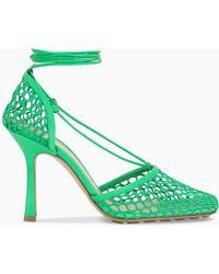 Bottega Veneta Stretch Sandals - Green