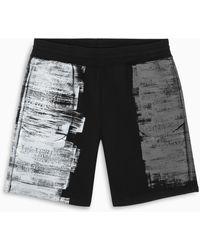 A_COLD_WALL* * Printed Shorts - Black