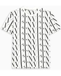 Valentino - /black Vltn T-shirt - Lyst