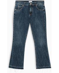 RED Valentino Dark Blue Flare Jeans