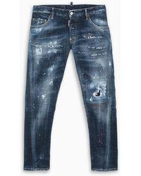 DSquared² Jeans Slim - Blue