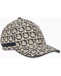 Ferragamo Cappello stampa Gancini - Multicolore