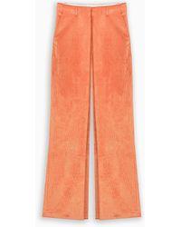 AALTO Orange Corduroy Pants