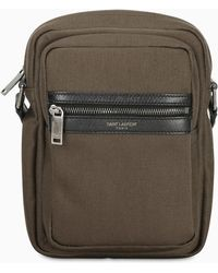 Saint Laurent Green Cross-body Bag