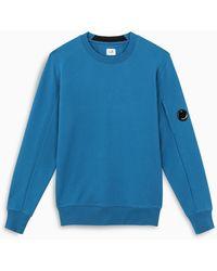 C.P. Company Crewneck Blue Sweatshirt