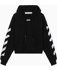 Off-White c/o Virgil Abloh Tm Black Airport Tape Hoodie
