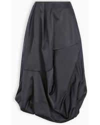 Enfold Blue Flared Skirt