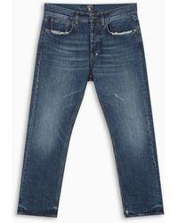 PRPS Blue Esprit Crop Jeans