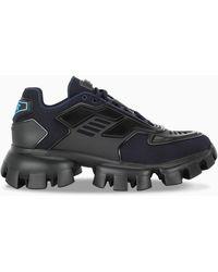 Prada Sneaker Cloudbust Thunder navy/nero - Blu