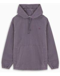Carhartt WIP Sweat-shirt Violet Avec Logo Brodé - Purple