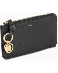 Chloé Black Leather Small Pouch