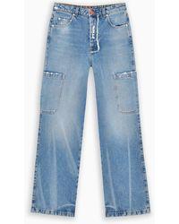 Heron Preston Cargo Boy Jeans - Blue