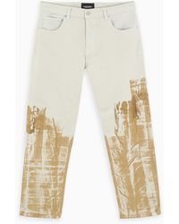 A_COLD_WALL* White/bronze Regular Trousers - Multicolour