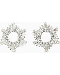 AMINA MUADDI Crystal Begum Earrings - Multicolor