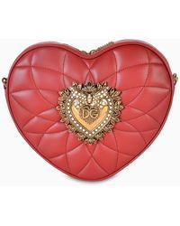Dolce & Gabbana Red Heart Box Cross-body Bag