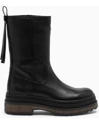 RED Valentino Valentino Garavani Chunky Low Boots - Black