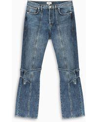 KENZO Blue Lace Jeans