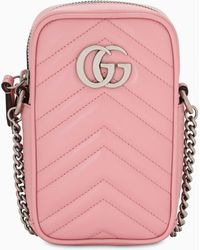 Gucci - GG Marmont Mini Bag - Lyst