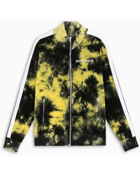 Palm Angels - Yellow Tie-dye Track Jacket - Lyst