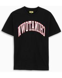 Chinatown Market - T-shirt nera con stampa logo - Lyst