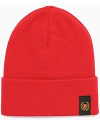 BEL-AIR ATHLETICS Chapeau Bonnet Avec Logo - Red