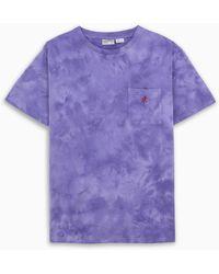 Gramicci Purple Tie-dye T-shirt