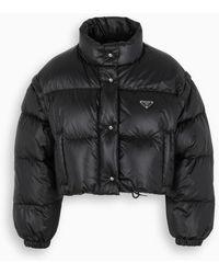 Prada Black Short Down Jacket