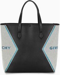 Givenchy Bond Logo-print Panelled Tote - Black