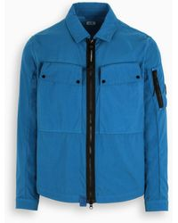 C.P. Company Jacket With Collar - Blue