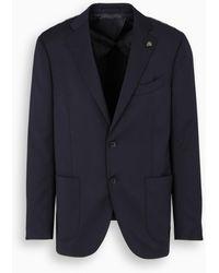 Gabriele Pasini Single-breasted Jacket - Blue