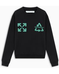 Off-White c/o Virgil Abloh Tm Black And Mind Universal Key Sweatshirt