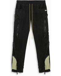 R H U D E © Cargo Trousers - Black