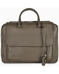 Ferragamo Green Duffle Bag