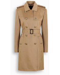 Givenchy Camel Double-breasted Trench-coat - Natural
