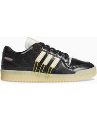 adidas Originals Black Forum 84 Low Premium Trainers