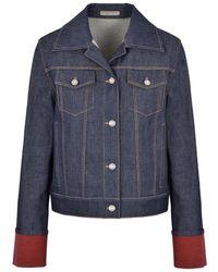 Bottega Veneta Blue Denim Jacket