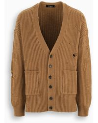 DSquared² Beige Cardigan Pullover - Natural