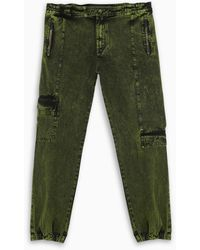 A_COLD_WALL* * Military Green Cargo Jeans