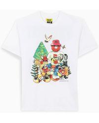 Chinatown Market - T-shirt bianca con stampa - Lyst