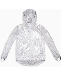 Satisfy Silver Packable Field Jacket - Metallic