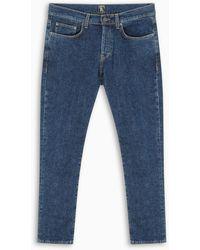 PRPS Blue Windsor Crop Cropped Jeans