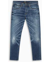 PRPS Vintage Blue Windsor Crop Jeans