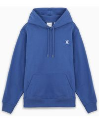 Daily Paper Tte Hoodie With Logo Embroidery - Blue