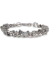 Emanuele Bicocchi Bracciale Chain argento - Metallizzato