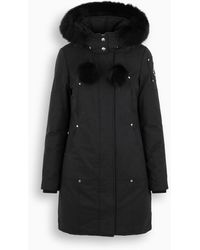 Moose Knuckles - Parka Stirling nero - Lyst