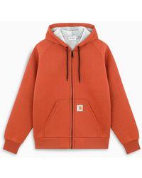 Carhartt WIP Car-lux Hooded Jacket - Orange
